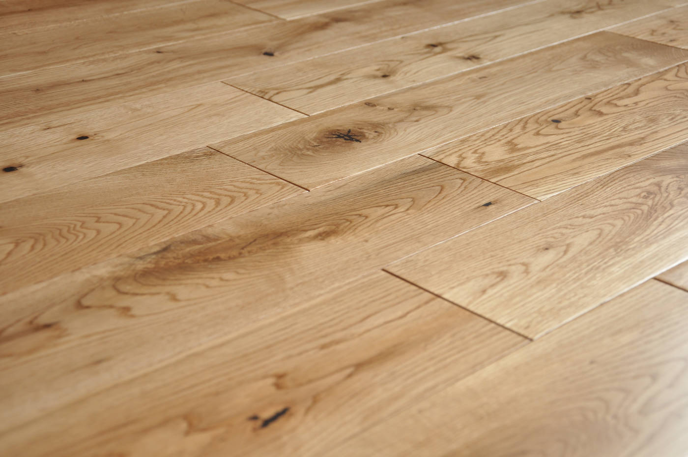 Natural wood flooring company west london for Real oak hardwood flooring