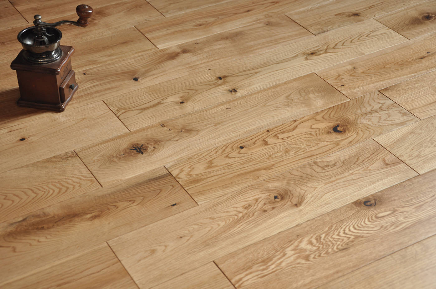 Natural wood flooring company west london for Natural oak wood flooring