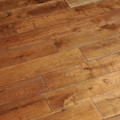 Solid Oak 18 x 125mm Character Grade (smoked oil) brushed flooring